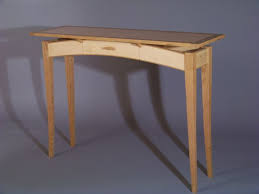 Hall Table Plans Floating Top Hall Table And Krenov Display Case Woodworking Talk