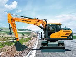 hw160 wheeled excavator
