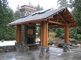 bellevue residence outdoor pavilion traditional patio
