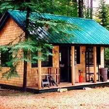 16x24 post and pier cabin vermont cottage kit option a jamaica cottage shop