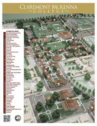 Bates College Map Claremont Colleges Map Image Gallery Hcpr