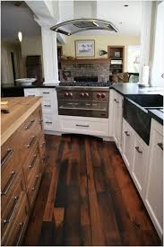 wooden floor in kitchen a idea white wooden floating shelves