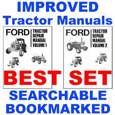 ford 7610 tractor service repair shop manual u0026 parts u0026 operators
