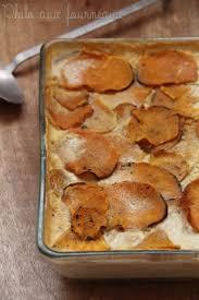 gratin dauphinois herv cuisine philo aux fourneaux gratin de patate douce au curry comme un gratin