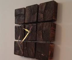 wooden clock 8 steps with pictures