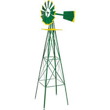 valley industries corporation 8 ft windmill ornament deere