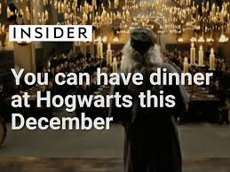 Hogwarts Dining Hall by Now You Can Have Dinner In Hogwarts U0027 Great Hall Business Insider