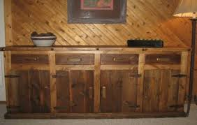 rustic buffet table antique rustic sideboards rustic sideboard