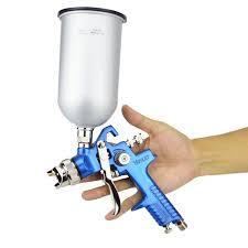 Face Paint Spray - voylet hvlp spray gun gravity feed 1 7mm stainless steel nozzle h