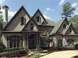 french country house plans with detached garage
