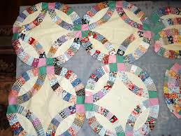 Double Wedding Ring Quilt by Double Wedding Ring Ufo Gift Tim Latimer Quilts Etc