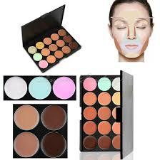 color concealer 15 colors cream face contour makeup concealer palette salon