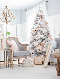 white christmas trees white christmas tree decorations ideas 22