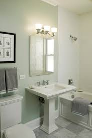 kohler pedestal sink powder room traditional with bathroom