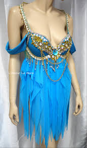 princess jasmine babydoll dress cosplay dance costume rave bra