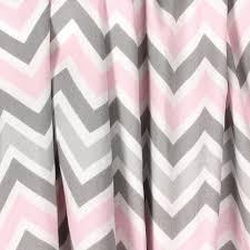 Chevron Nursery Curtains Light Baby Pink Gray Curtains Nursery Curtain Panels Chevron