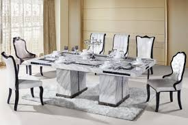 dining table white marble dining table set pythonet home furniture
