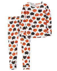 halloween pjs for girls 2 piece snug fit cotton halloween pjs snug fit toddler girls