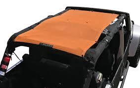 jeep wrangler 4 door orange alien sunshade jeep wrangler jku4fb shade provides uv protection