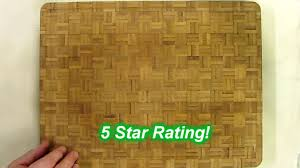 large end grain bamboo cutting board professional antibacterial