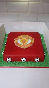 manchester united cake sports cakes manchester