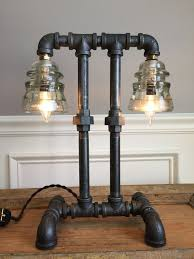 Steel Pipe Desk by 25 Best Pipe Lighting Ideas On Pinterest Industrial Wall Art
