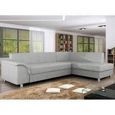 Real Leather Corner Sofa Bed With Storage by Corner Sectional Sofas Ebay