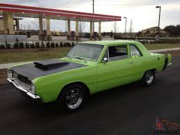 lime green dodge dart dodge dart sedan with 5 7 hemi package great car