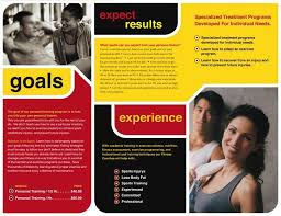 fitness brochure templates fitness brochure gym brochure template