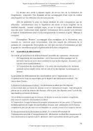 bureau du commerce international rapport stage problématique commerce international
