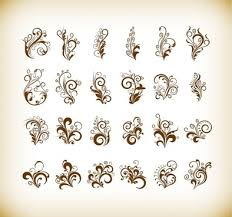 photoshop floral custom shapes free vector 16 198 free