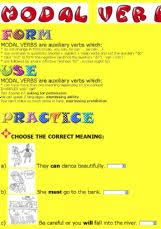english worksheets modal verbs worksheets page 7
