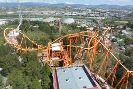 Six Flags Magic Mountain Fire File Six Flags Magic Mountain Tatsu2 Jpg Wikimedia Commons