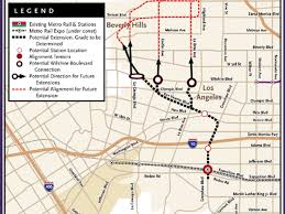 Metro Rail Dc Map by West Hollywood Moving Forward With Complicated Scheme To Get A