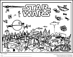 advanced coloring pages star wars ginormasource kids