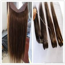 cheap halo hair extension russian natural hair flip human