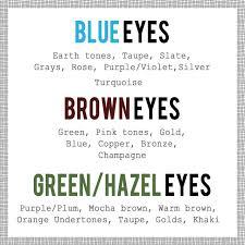 makeup pairing color makeup eye color finally