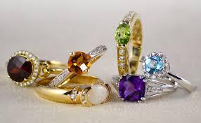 colored gemstone rings images Gemstone pearl jewelry jpg
