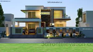 amusing modern front elevation of house 36 on interior design