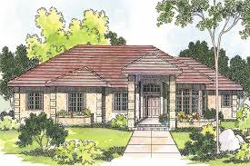 southwestern house plans mediterranean home with 3 bdrms 2692 sq ft house plan 108 1222