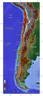 chile physical map large physical map of chile chile south america mapsland