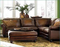 Distressed Leather Armchairs Great Distressed Leather Sectional Sofa With Rustic Leather