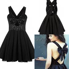 black cocktail dresses with straps dress images