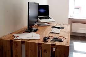 Schreibtisch Selber Bauen 55 Ideen Schreibtisch Aus Europaletten 56 Images Paletten Schreibtisch