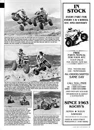 dirt wheels magazine 1985 250 shootout