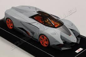 lamborghini egoista model mr collection lamborghini egoista matt grey scuderiamodelli by