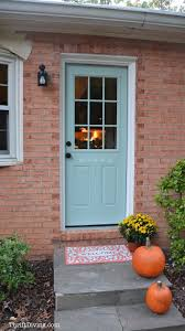 painting and stenciling my exterior door thrift diving blog