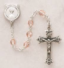 creed rosary creed sterling silver communion rosary