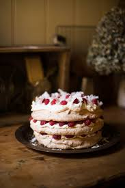 white chocolate coconut and raspberry pavlova u2013 australia day