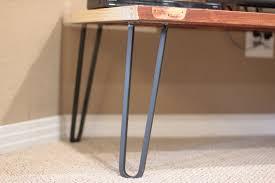 hair pin legs square bar hairpin legs steel